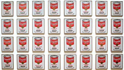 32 פחיות המרק של קמפבל